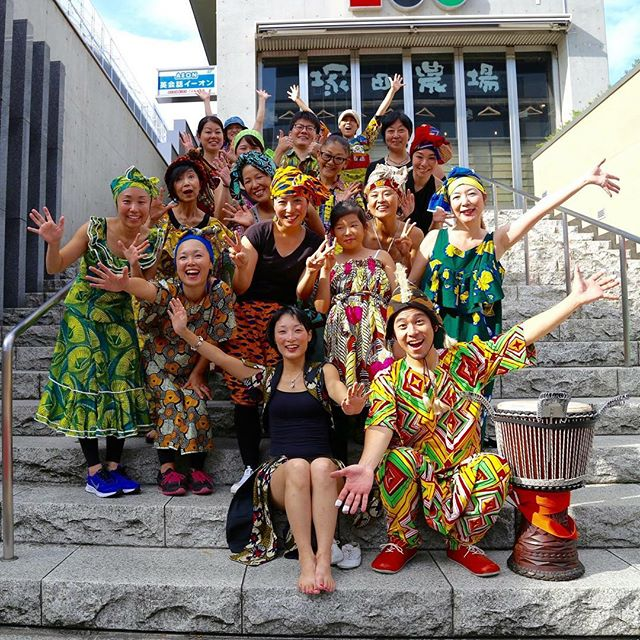 After the show 10/23(sun).YUTA Africa Ensemble !#djembe #africandance #ジャンベ #アフリカンダンス