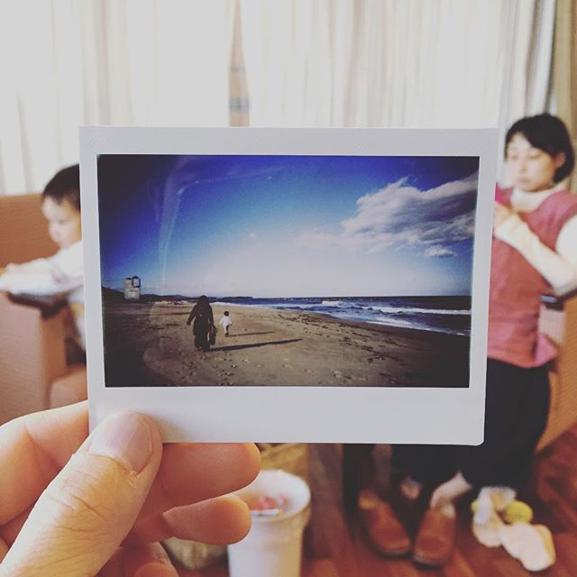 家族で鵜の岬に来ています#lomography #lomoinstant