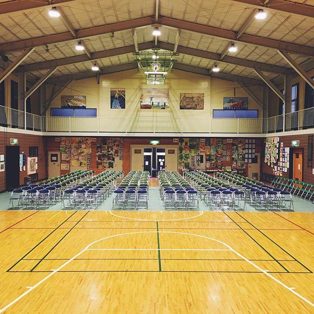 明日の午前中は、つくば市要小学校にて遊唄ラテンジャズ楽団出張演奏♪学校の体育館て、なんだか懐かしい(^^)#小学校 #体育館 #つくば #tsukuba #percussion #latinmusic #latinjazz